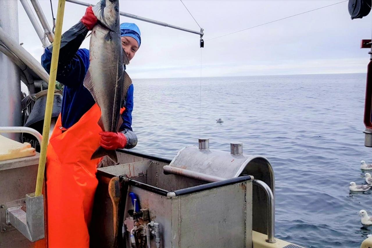 Søker kvinner i fiske